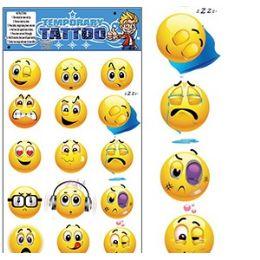 200 Units of Emoji Temporary Tattoos - Tattoos and Stickers
