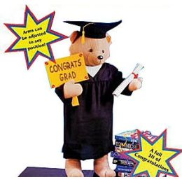 6 Units of Large Graduation Bears. - Graduation