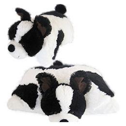 8 Units of Plush Zoopurrpet Oreo The Dog Pillows. - Pillow Cases