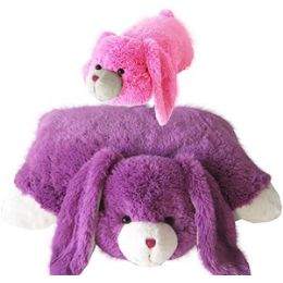 8 Units of Plush Zoopurrpet Bebe The Bunny Pillows. - Pillow Cases