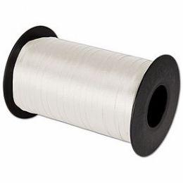 24 Units of White Polypropylene Curling Ribbon - Bows & Ribbons