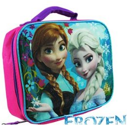 8 Units of Disney's Frozen Soft Lunch Boxes - Licensed Backpacks