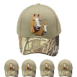 24 Units of Horse Camo Hunting Cap - Hunting Caps
