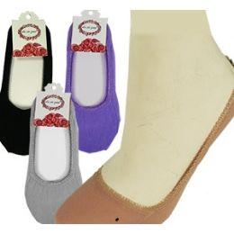 300 Units of Travel SlippeR-Socks Assortement - Womens Slipper Sock