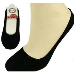 300 Units of Black Travel SlippeR-Socks. - Womens Slipper Sock