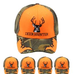 12 Units of Camouflage Hunting Cap Deer - Hunting Caps