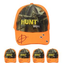 24 Units of Hunting Baseball Cap Hunt - Hunting Caps