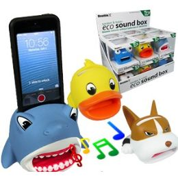 24 Units of Eco Cell Phone Speakers. - Speakers and Microphones