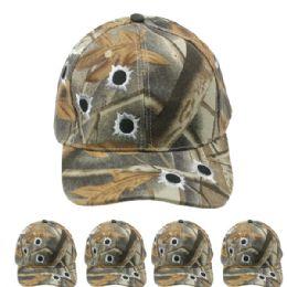 24 Units of Hunting Cap Camo Bullet - Hunting Caps