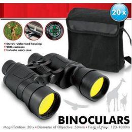16 Units of Black Binoculars. - Binoculars & Compasses