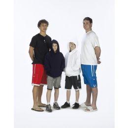48 of Boys Microfiber Swim Shorts: One Stripe