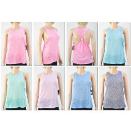 72 Units of Women's Fashion Tank Tops With Stylish Back - Womens Camisoles & Tank Tops