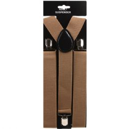 48 of Brown Suspender (1.5 Inches Wide)