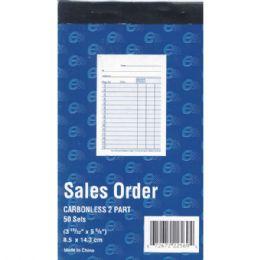 "60 Units of Sales Order,book, Carbonless, 3 11/32"" X 5 5/8"", 50 Sets, 100 Sheets - Sales Order Book"
