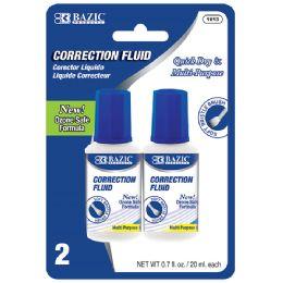 24 Bulk 20ml / 0.7 Fl. Oz. Correction Fluid (2/pack)