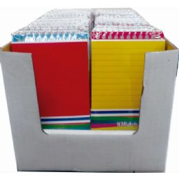 48 Wholesale Poly Memo Pads, 4pk. Assorted Colors In Display