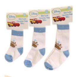 144 Units of Disney Cars Socks - Baby Apparel