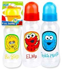48 Units of Elmo 9 Oz Baby Bottle - Baby Bottles