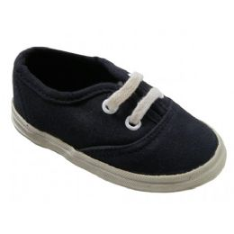 24 Units of Wholesale Children Canvas Shoes - Toddler Footwear