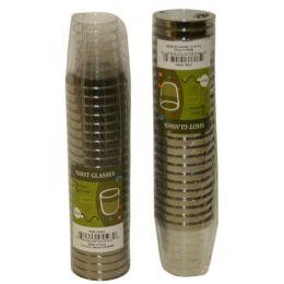 96 Units of 24pc Plastic Shot Glasses - Plastic Drinkware