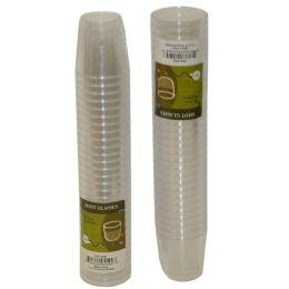 96 Units of 30pc Plastic Shot Glasses 1oz - Plastic Drinkware