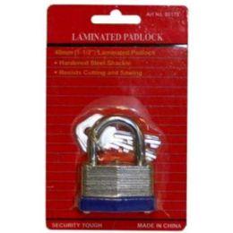 72 Units of 40mm Laminated Lock - Padlocks and Combination Locks