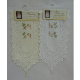 60 Units of Lace Table Runner [palm Trees] - Table Runner