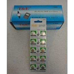 100 Units of 10pk Ag6 Batteries - Batteries