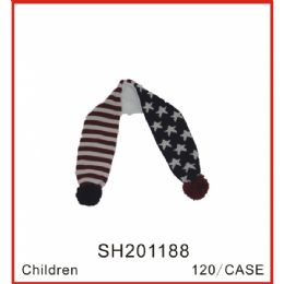72 Units of Kids Scarf - Junior Kids Winter Wear