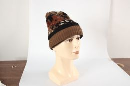 36 Bulk Adults Camouflage Winter Hat With Fur Lined