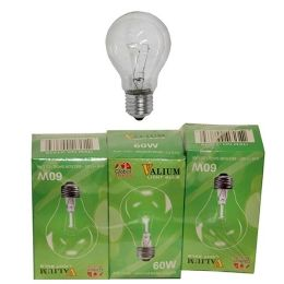 80 of 3pc Clear Light Bulb 60w