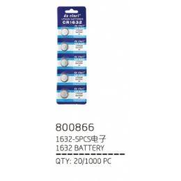 240 Units of 1632 Five Piece Battery - Batteries