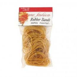 96 Units of 200 Piece Rubber Bands - Rubber bands