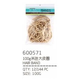 144 Units of Hair Band - PonyTail Holders