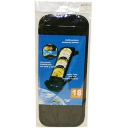 96 Units of 18 Cd Visor Holder - Auto Cleaning Supplies