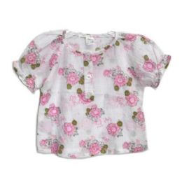 144 Units of Baby Girl Dress Shirt Asst 12x12 in - Baby Apparel