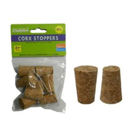 144 Units of 8pc Craft Cork Stoppers - Craft Wood Sticks and Dowels
