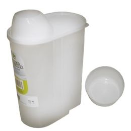 96 Units of 2 Light Cereal Pitcher With Cup - Plastic Drinkware