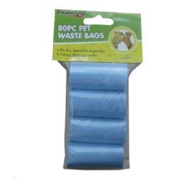 96 Units of 80 Piece Pet Waste Bags - Pet Accessories