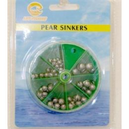 120 Wholesale Assorted Sinkers