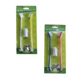96 of 2 Piece Dog Toothbrush Set