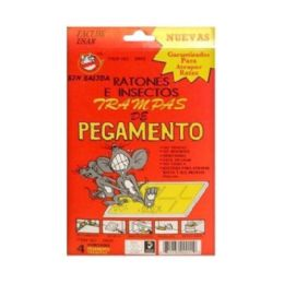 96 Units of 4 Piece Glue Traps - Pest Control