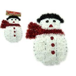 144 Units of Christmas Snowmen Garland - Christmas Ornament