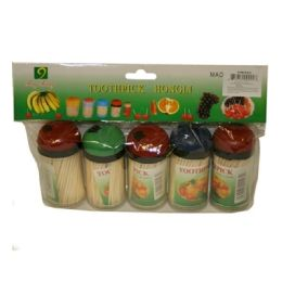 72 Units of 5 Piece Toothpicks 8x6 in - Toothpicks