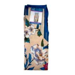 72 Units of Teal Flower Style Apron 22x32in - Kitchen Aprons