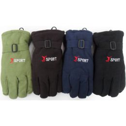 72 of Unisex Sport Fleece Gloves