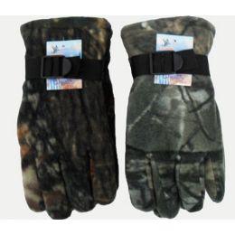 72 of Camoflage Heavy Fleece Gloves