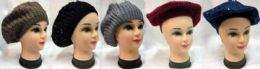 36 Units of Wholesale Knitted Lady Hat - Junior / Kids Winter Hats