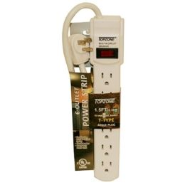 30 Units of 6 Outlet P. Strip Ul Listed - Electrical