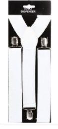 48 of Adult White Suspender